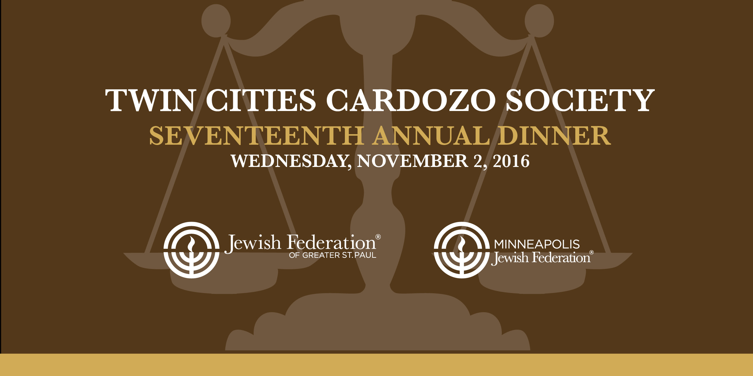 Twin Cities Cardozo Society Seventeenth Annual Dinner Teaser Image